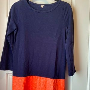 J.Crew tshirt dress